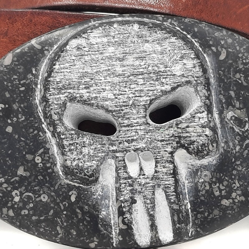 cintura-the-punisher-teschio-in-pietra